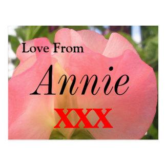 Annie Postkarte