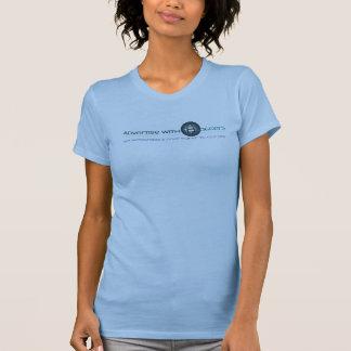 Annoncieren Sie mit Bloggers-Trägershirt T-Shirt