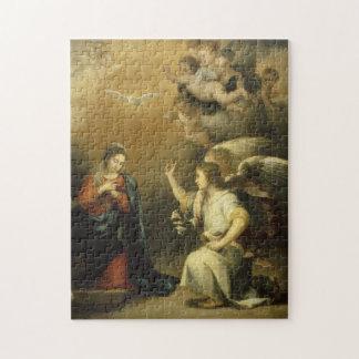 Annunctiation, religiöse Kunst-Puzzle Puzzle