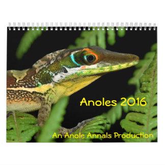 Anoles 2016 - Eine Anole Annalen-Produktion Kalender