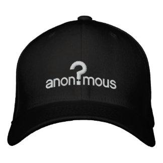 Anonym Bestickte Kappen