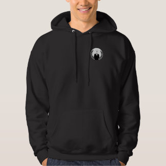 Anonyme Logofront Kapuzensweatshirt