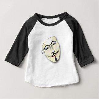 Anonyme Maske Baby T-shirt