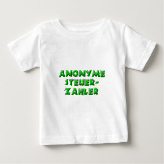 Anonyme Steuerzahler Baby T-shirt