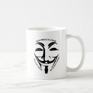 Anonyme weißer Kaffee-Tasse Kaffeetasse