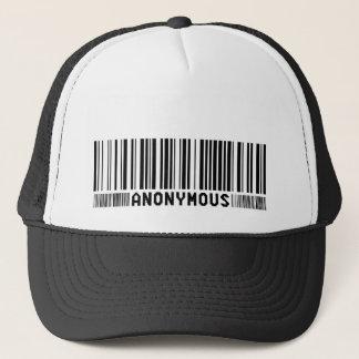Anonyme - wir sind anonym - Jungen-Barcode-Kappe Truckerkappe