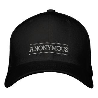 Anonymer gestickter Hut