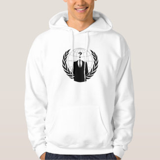 Anonymer HackerHoodie (Licht) Hoodie