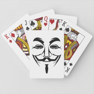 Anonymer Poker-Spielkarten Spielkarten