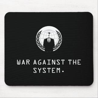 anonymer schwarzer Krieg gegen das System Mauspads