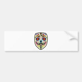 ANONYMER Tag der toten 4 maskieren Anon Autoaufkleber