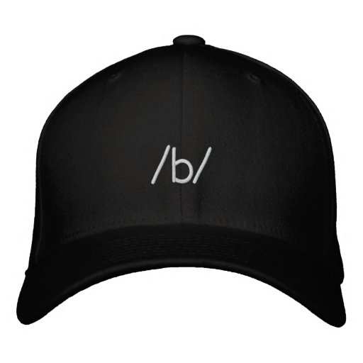 anonymes /b/ besticktes cap