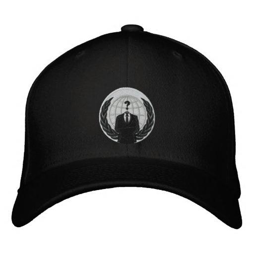 Anonymes Logo Bestickte Baseballkappe