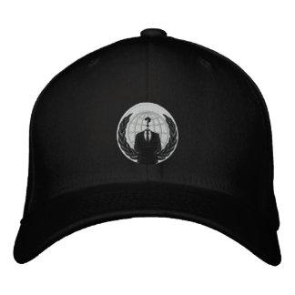 anonymes Logo Bestickte Kappen