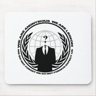 anonymes Logo w/motto Mousepads