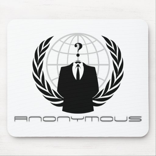 Anonymes Mousepad Weiß