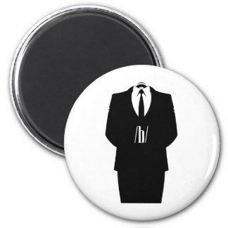 Anonymous /b/ runder magnet 5,1 cm
