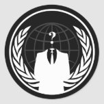 Anonymous International Black Sticker