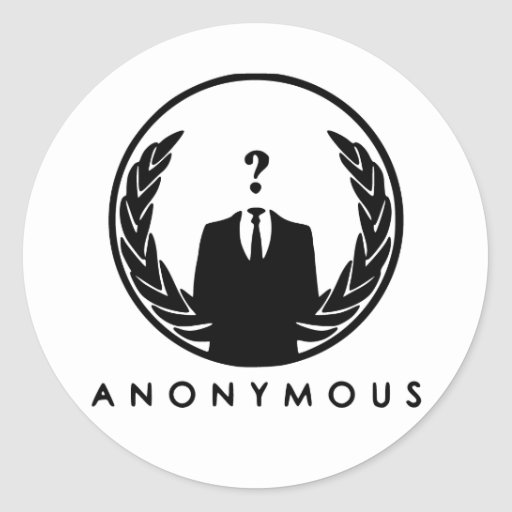 Anonymous Logo | Zazzle