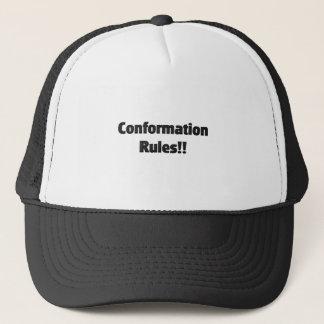 Anpassungs-Regeln Truckerkappe