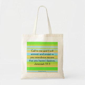 Anruf auf Gott Tragetasche
