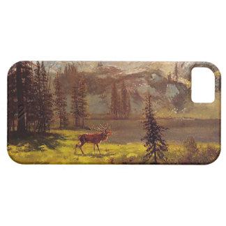 Anruf vom wilden durch Albert Bierstadt 1876-77 Barely There iPhone 5 Hülle