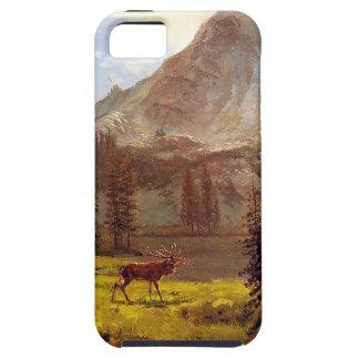 Anruf vom wilden durch Albert Bierstadt 1876-77 Hülle Fürs iPhone 5