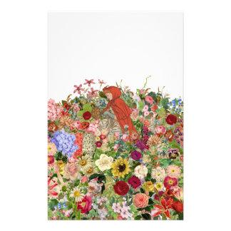Ansammlungs-Blumen Briefpapier