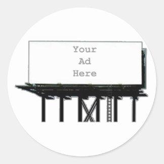 Anschlagtafel Ihr der Anzeige Grau hier das MUSEUM Runder Aufkleber