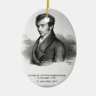 Anselm Huttenbrenner 1837 Keramik Ornament