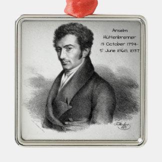 Anselm Huttenbrenner 1837 Silbernes Ornament