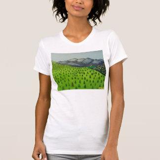 Ansicht der Berg Baldy Shirt-Malerei von Julia T-Shirt