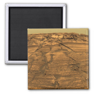 Ansicht der Brand-Klippe auf Mars Quadratischer Magnet