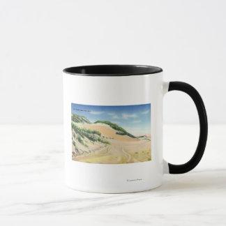 Ansicht der Cape Cod-Sanddünen Tasse