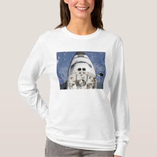 Ansicht der Crewkabine Raumshuttle Bemühung T-Shirt