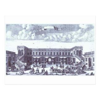 Ansicht der des Gagarins Moskau-Villa Postkarte