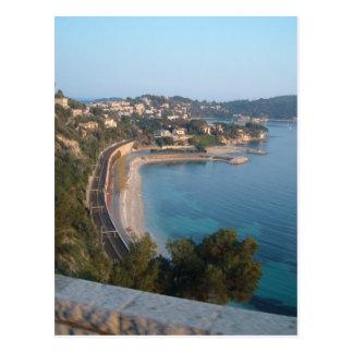 Ansicht der französischen Küste Postkarte