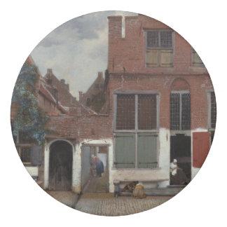 Ansicht der Häuser in Delft durch Johannes Vermeer Radiergummi 1