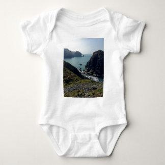 Ansicht der kornischen Küste Baby Strampler