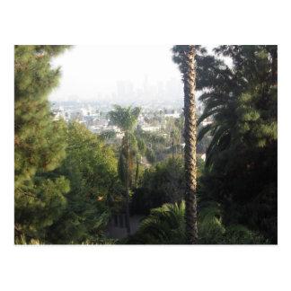 Ansicht der Stadt Postkarte
