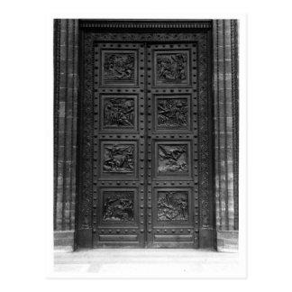 Ansicht der Tür von La Madeleine Postkarte