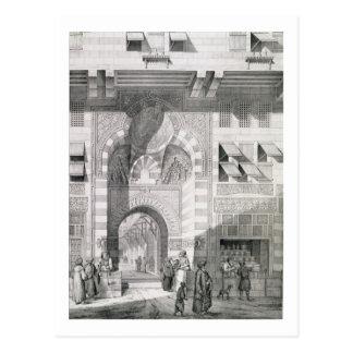 Ansicht der Tür von Okal Kaid-Bey, 'von den Postkarte
