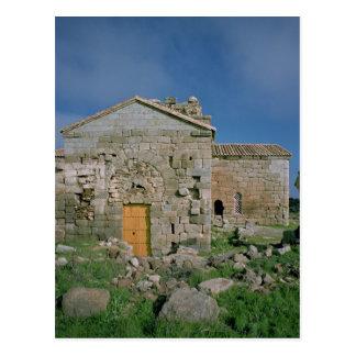 Ansicht der Westfassade, errichtetes c.862-930 Postkarte