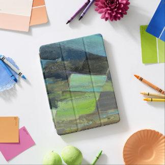Ansicht des abstrakten Druckes der Küsten-II | iPad Air Hülle