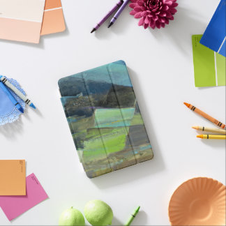 Ansicht des abstrakten Druckes der Küsten-II | iPad Mini Cover