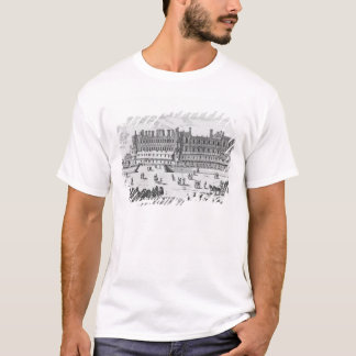 Ansicht des Chateaus de Heilig-Germain-En-Laye T-Shirt