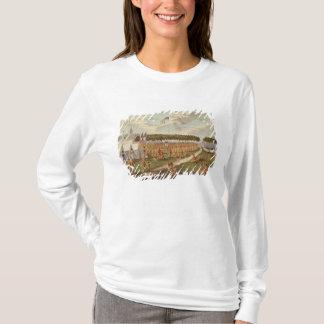 Ansicht des großen Vertrags hielt am Grasland DU T-Shirt