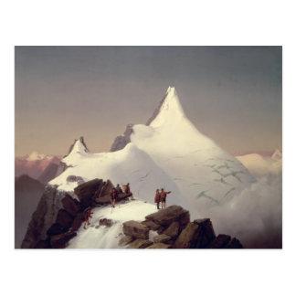 """Ansicht des """"Grossglockner"""" Berges Postkarte"""