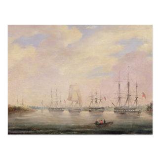 Ansicht des Hafens Adelaide, Südaustralien Postkarte