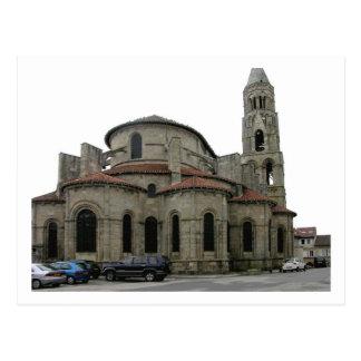 Ansicht des Helms der Kirche (Foto) Postkarte